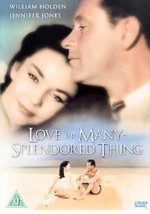 Love is a many splendored thing Jennifer Jones poster