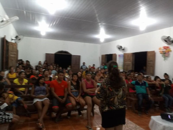 Atividade de Educação Sexual na comunidade de Nova América, Oeiras-PA. Uma experiência fantástica com pais agricultores.