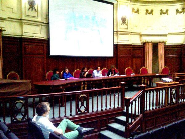 II Congreso Latinoamericano de Filosofia de la Educación, realizado em Montevidéu, em 2013. Apresentação do Projeto crítico-filosófico e freireano de Educação Sexual.