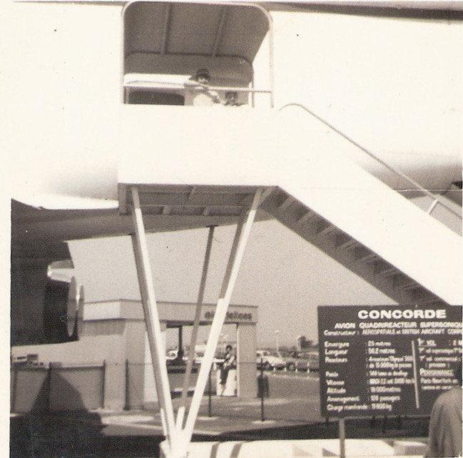 Exposição do Concorde.