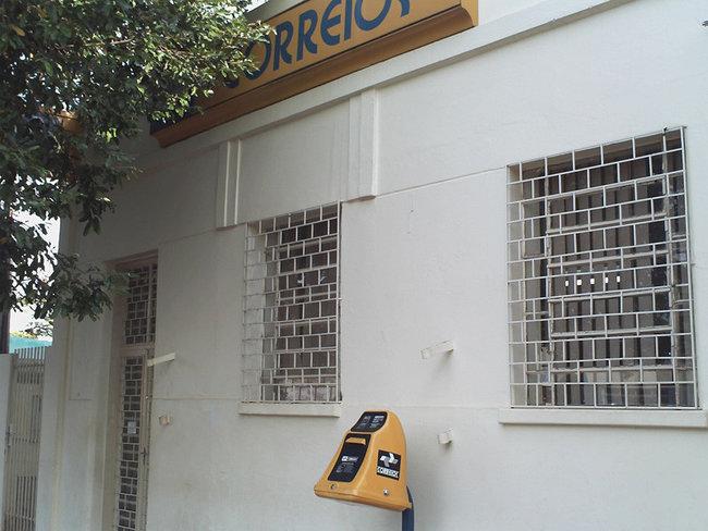 Correios e Banco Postal em Paulicéia, Avenida Paulista.