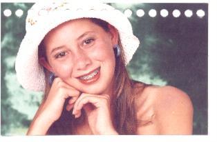 Esta é minha Lais quando completou 15 anos.