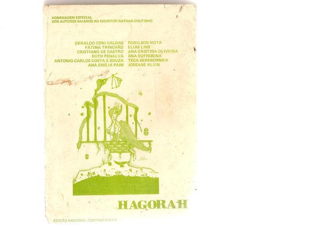 Antologia poética lançada pela Editora Contemp - ano de 1983 - Salvador
