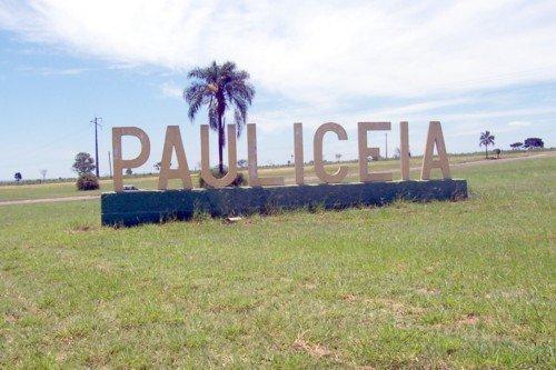 Entrada da cidade de Paulicéia/SP - Brasil