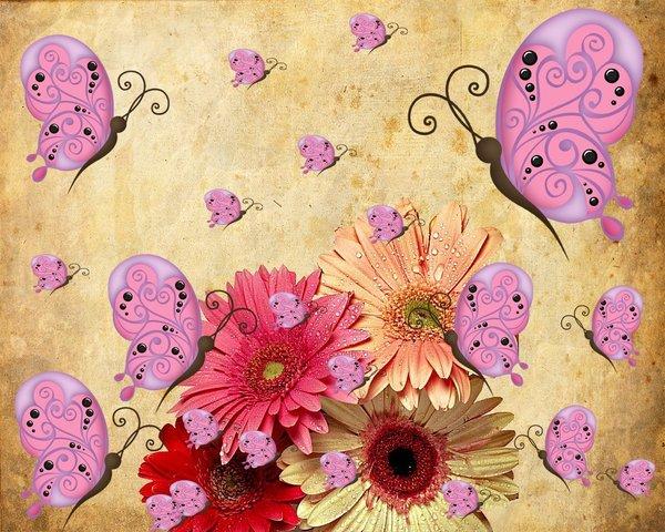 Uma adaptação para a sucção entre flores nos belos e encantados dias primaveris. (Autor:Roangas)