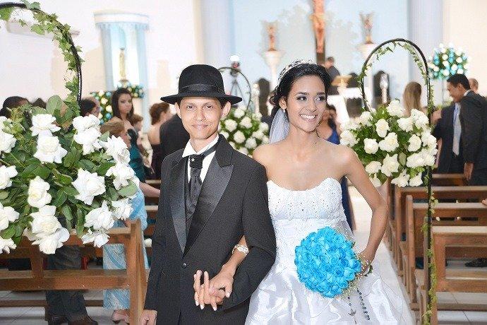 Casamento 15/12/2012. Igreja São Sebastião, Montes Claros-MG